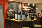 Another view of the counter.