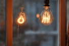 ... while my fascination with the bare bulb never fades.