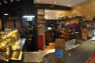 A wider view from across the counter.
