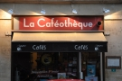 The main (and original) entrance to La Caféothèque.