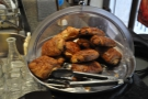 ... as well as these pastries on the counter-top.