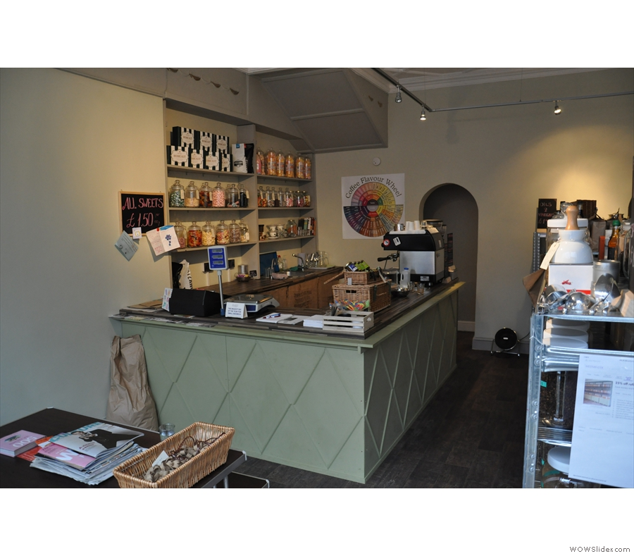 In December the Coffee Spot was back in London before the end of year Coffee Spot Awards. Highlight was my 1st visit to The Dry Goods Store, part coffee shop, part grocer!