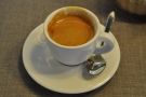 ... and the end result, a very fine espresso.