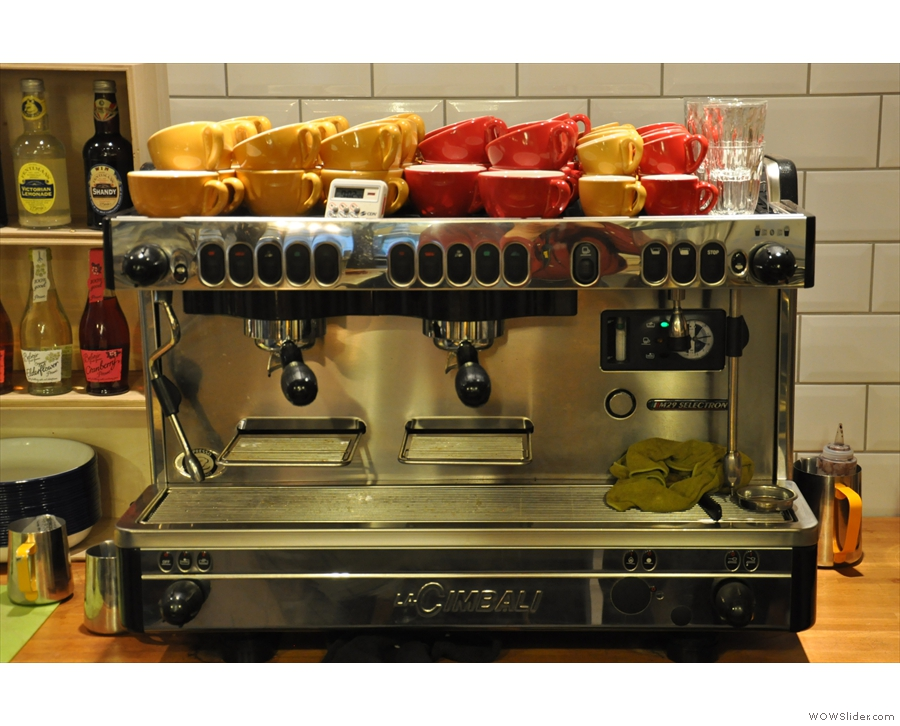 Time to put the espresso machine to work.