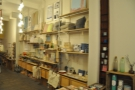 There are lots of items for the home for sale in the front half of the store...