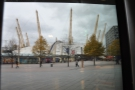 If you wondering exactly where it is, this is the view from the door... (O2 Arena)