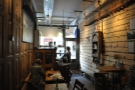 February: the delightful interior of Devon Coffee, Exeter