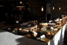 May: light and dark, the cakes at White Mulberries, London