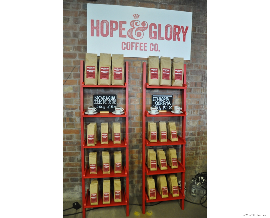First of the new roasters was Hope & Glory from Hull.