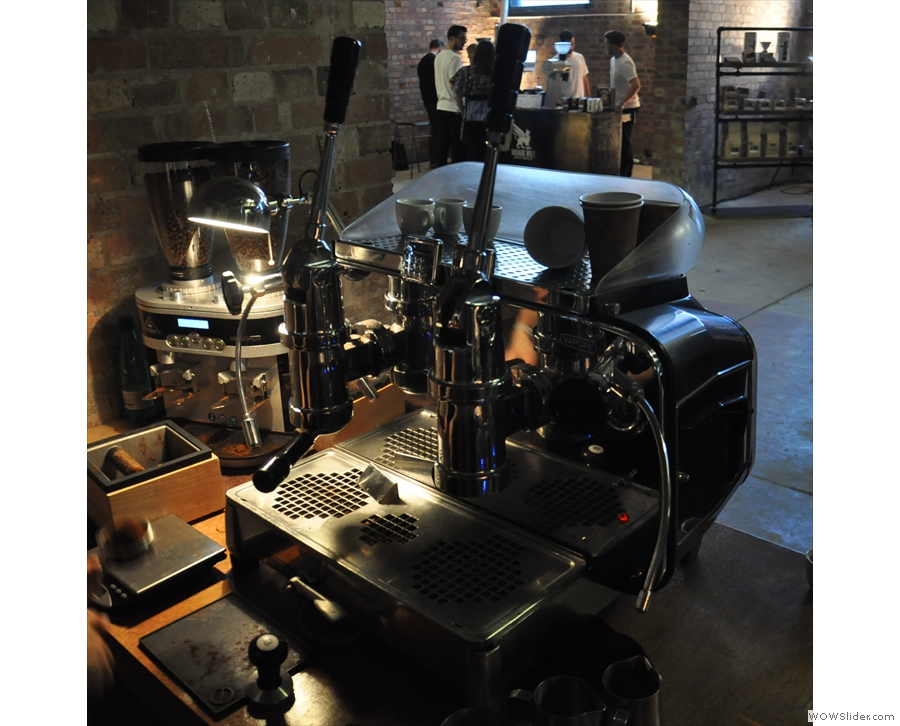 Lever machines were very much in vogue at Cup North. They are lovely though.