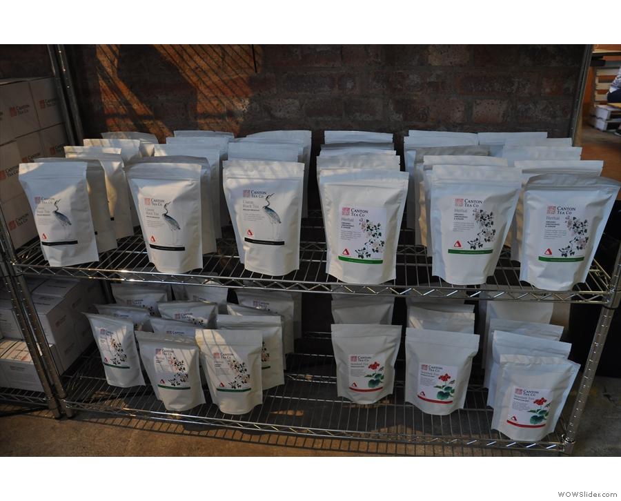 ... more tea in bags!