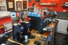 The business side of the espresso machine...