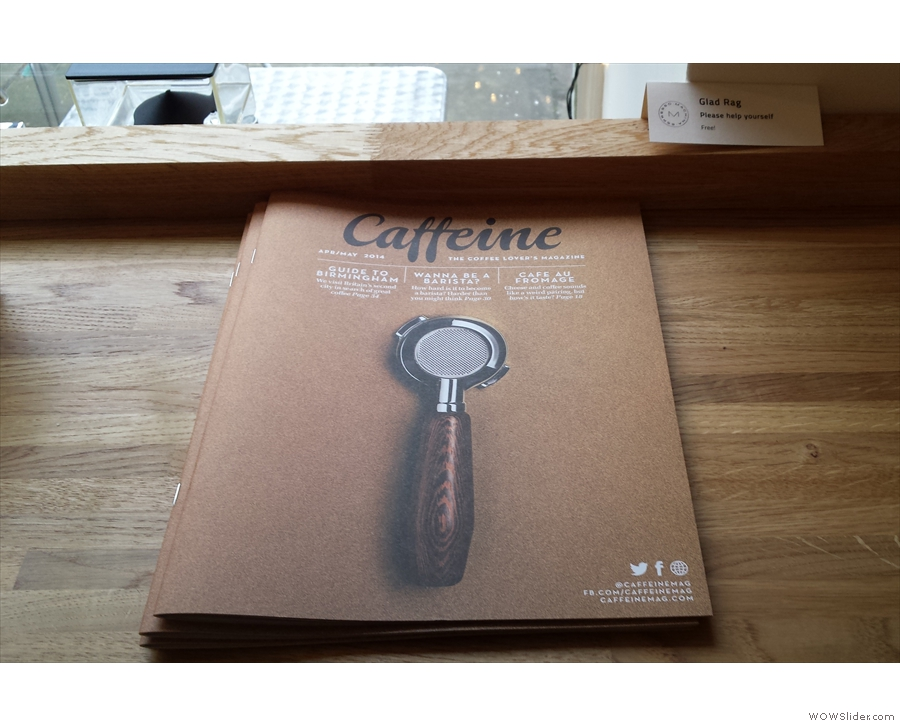I can't go anywhere these days without coming across Caffeine Magazine :-)