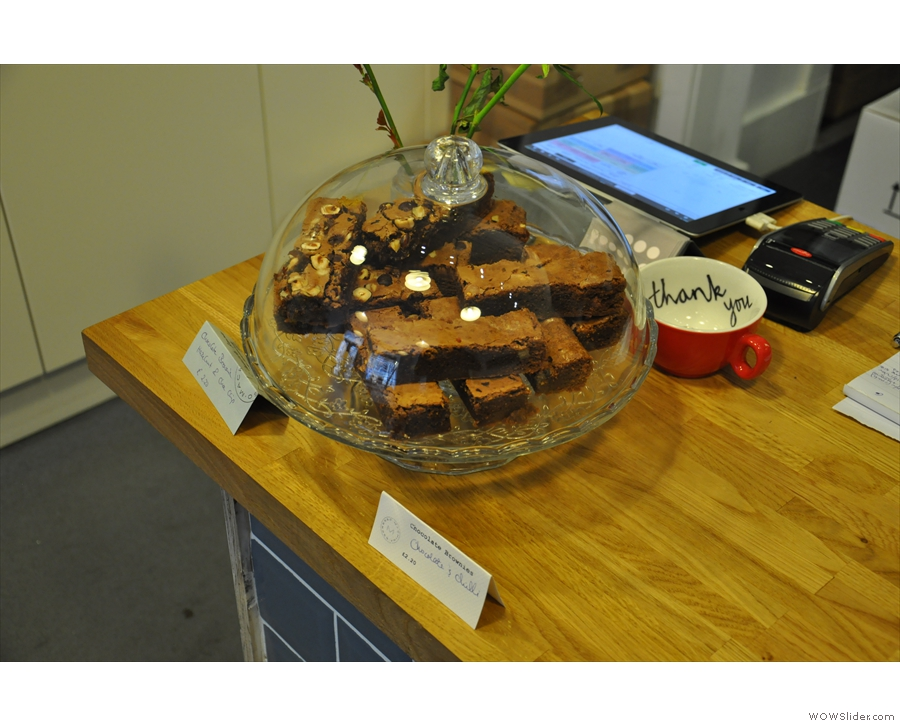 Or brownies. Made especially for me!