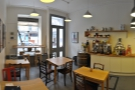 ... and the view from the counter back towards the door.