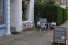Machina Espresso on Edinburgh's Brougham Place, just off the Meadows.