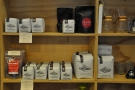 There was also plenty of coffee beans for sale.