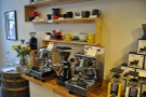 First come the high-end home espresso machines...