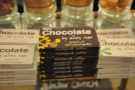 There's also chocolate made by a neighbour using Steampunk's coffee...