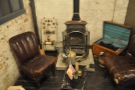 Pride of place goes to Steampunk's second working stove. I know where I want to sit!
