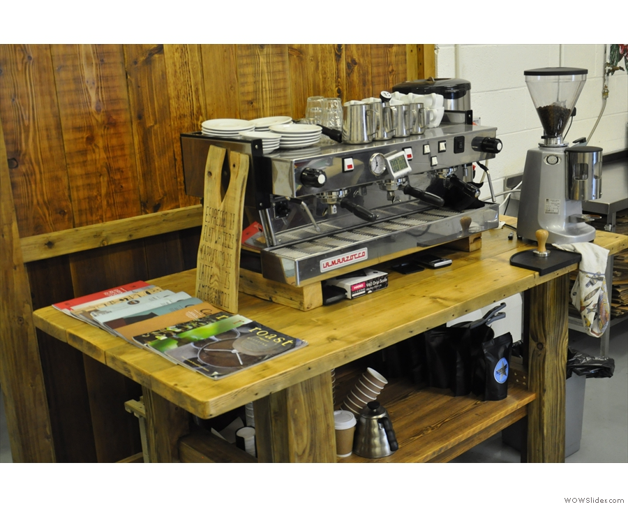 Oh look! North Star has an espresso machine...