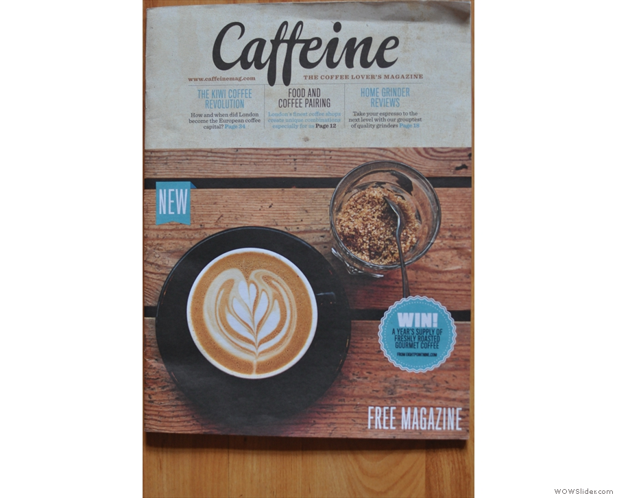 The first ever Caffeine Magazine, and already it's looking amazing!