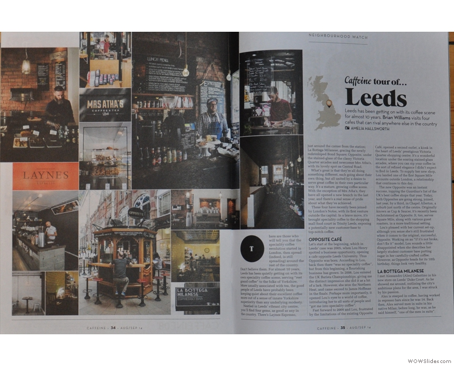 ... while Amelia's wonderful photos illustrate this feature on Leeds. Wonder who wrote it?