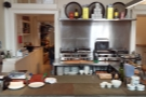 It's got its own counter too, which is where all the food preparation takes place.