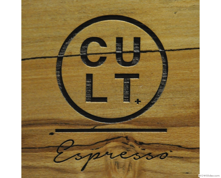 Cult Espresso, technically not a basement, but basement-like.