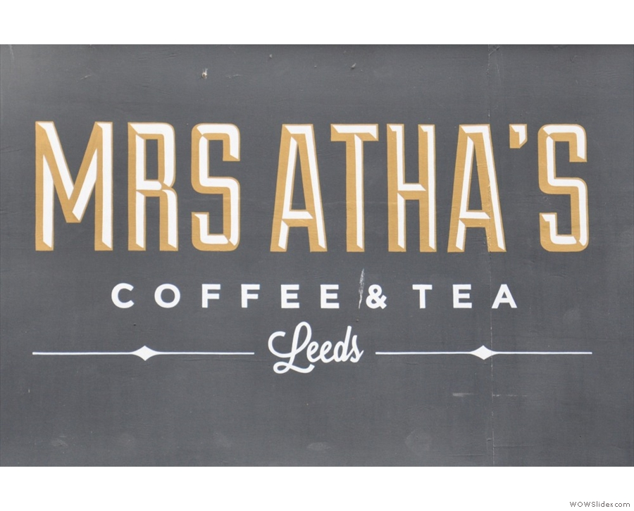 The wondeful Mrs Atha's in the heart of Leeds.