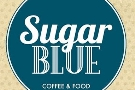 Nantes Sugar Blue Cafe: as soon as I saw it as I walked down the street, I knew I'd love it.