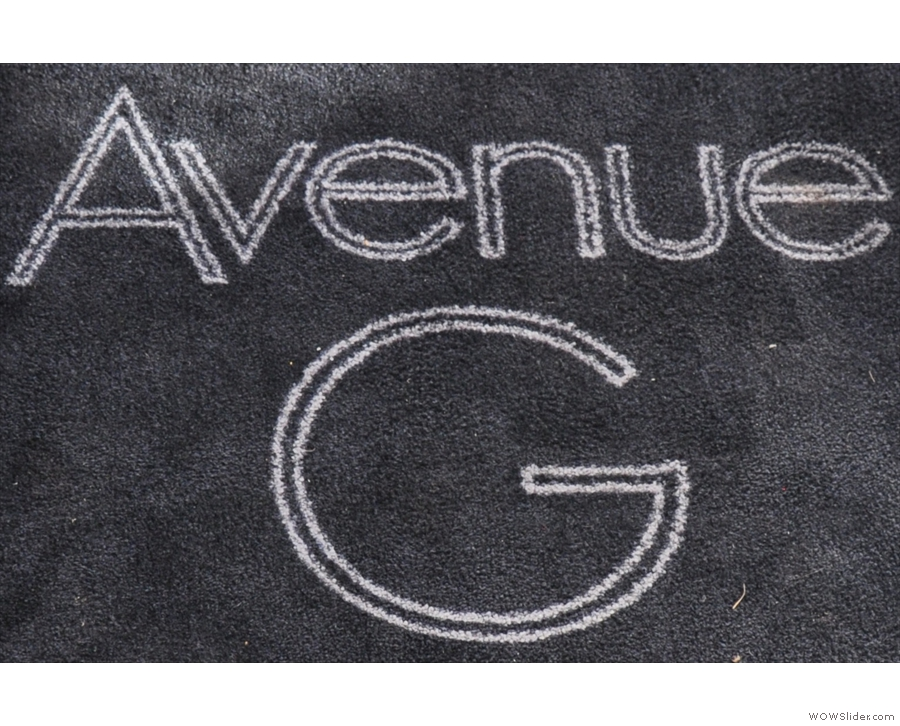The original Avenue G, on Glasgow's Bryes Road, serving up some lovely filter coffee.