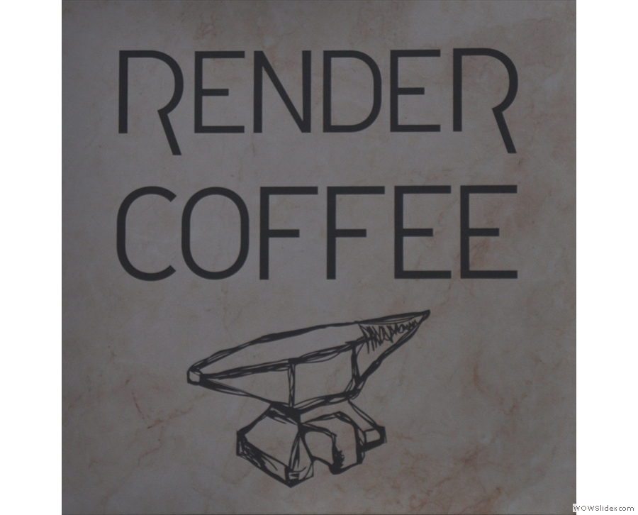 Boston's Render Coffee, serving from really excellent filter coffee (and espresso too).