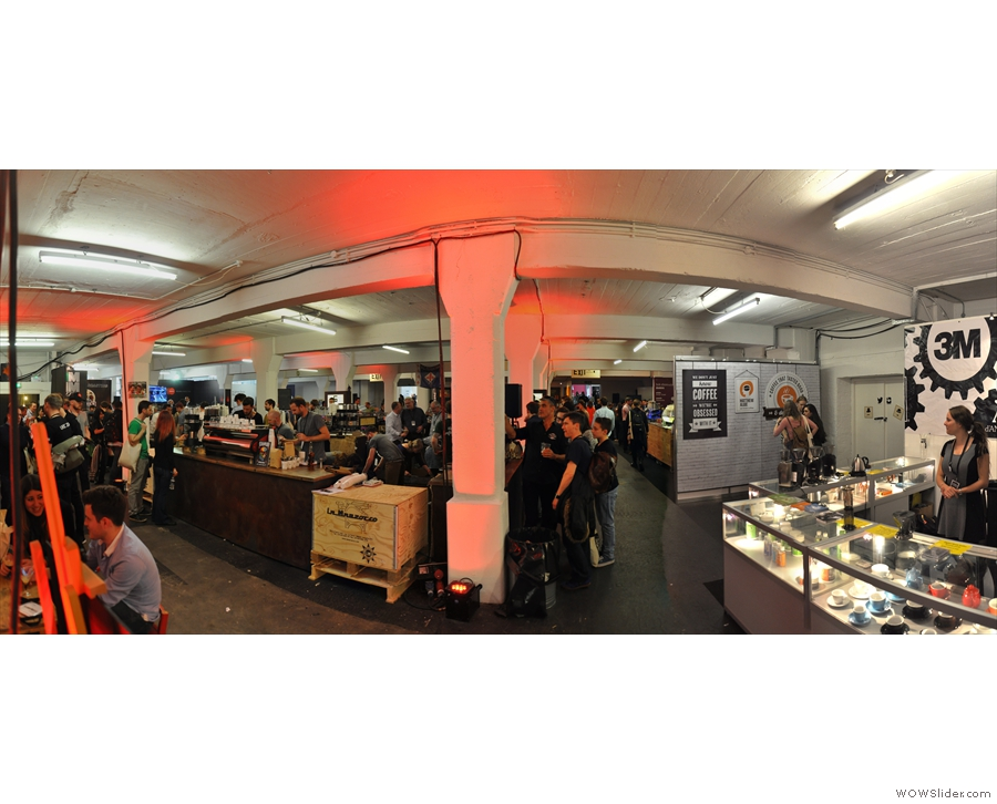 The London Coffee Fesitval, always good for a Saturday Supplement or two (or seven!)