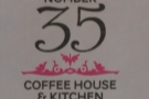 Dorchester's No 35 Coffee House & Kitchen, another serving espresso from around the world.
