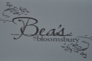 Bea's of Bloomsbury in a tiny spot opposite Farringdon Station.