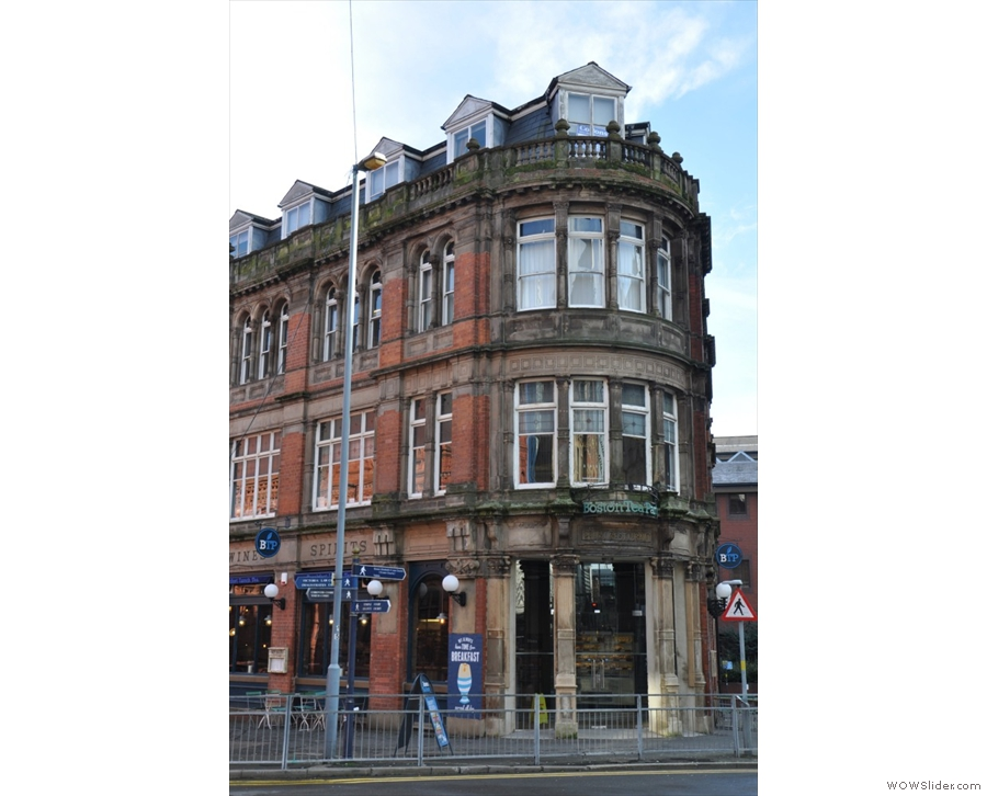 The Boston Tea Party, Birmingham, another setting, another iconic building.