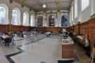 The soaring interior of The Wren, set in a Christopher Wren church in the heart of the city.