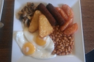 My all-day vegetarian breakfast at Lymington's Lemana Cafe.