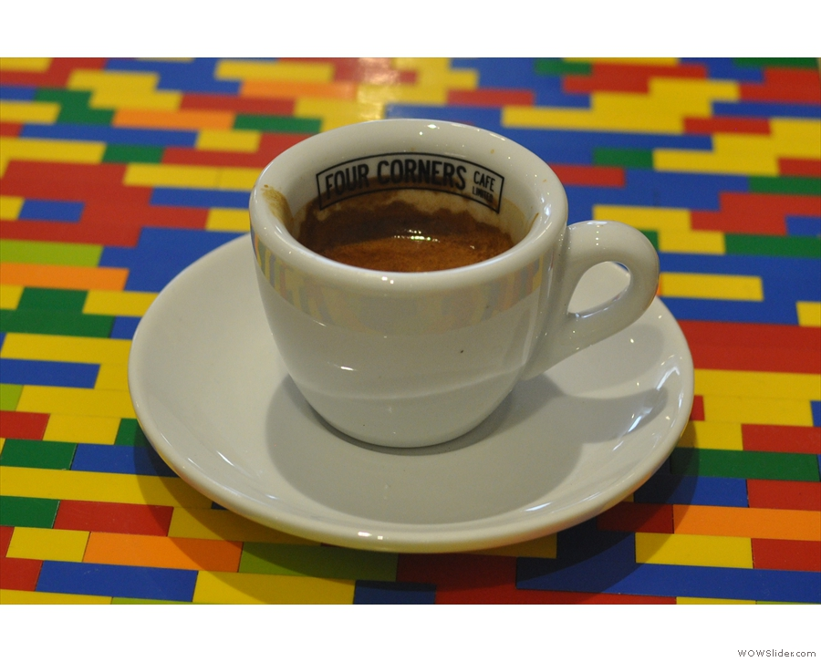 Where would we be without Four Corners Cafe and the lego table?