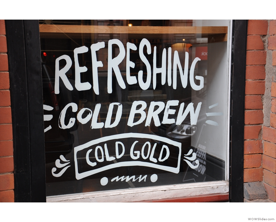 Cold Brew: it was all the rage last summer (when I was at TAKK).