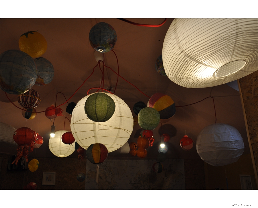 The light fittings are certainly different!