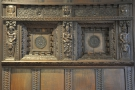 The detail on the fireplace in the second bay is amazing.