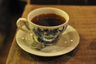 The Finca La Fany from Caravan: pretty cup, excellent coffee.