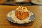 The orange and almond cube cake, a weird combination, but surprisingly nice.