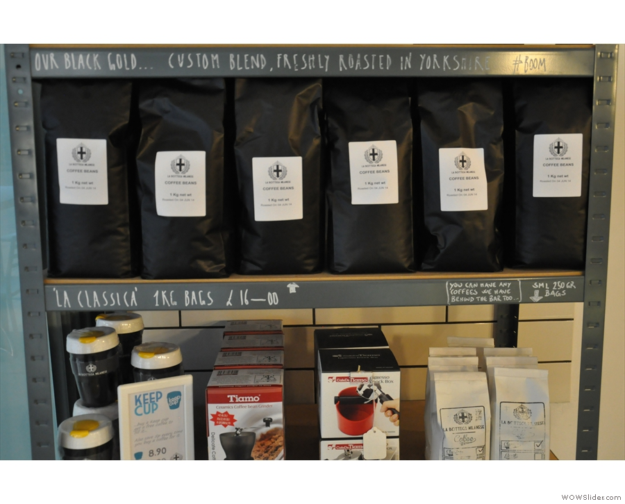 Lots and lots of the house blend.