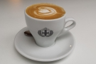 I'll leave you with my lovely decaf flat white...