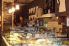 A rather bad photo of the front of the counter taken from my seat outside...