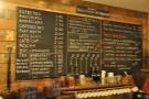 The coffee and food menu...