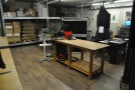 However, this is where the action is: the roastery and warehouse at the back.